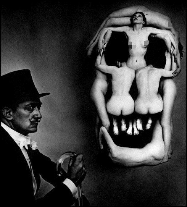 Отец сюрреализма - Сальвадор Дали.