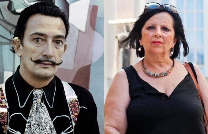 Дочь Сальвадора Дали и его предполагаемая дочь Пилар Абель.