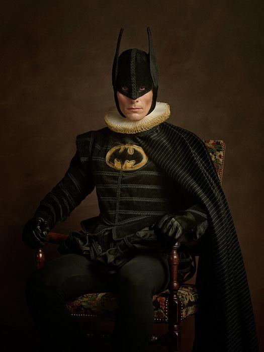 Фотографии супергероев от Sacha Goldberger
