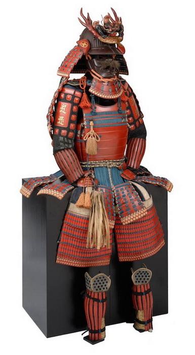 Ёкохаги-до — кираса с горизонтально расположенными планками, 18 век