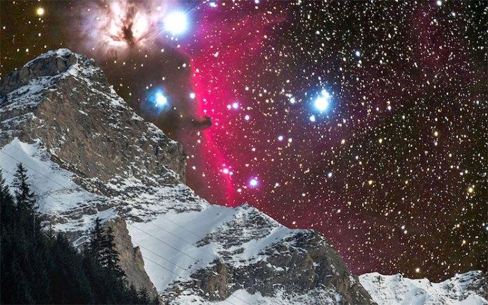Туманность Конская Голова. Галактика Андромеды