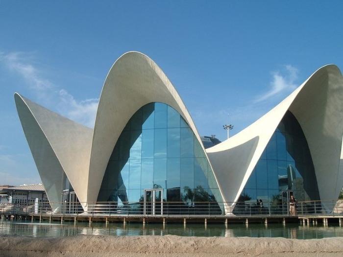 Город искусств и наук шедевр