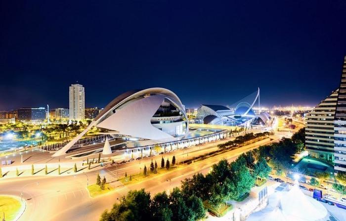 Город искусств и наук – шедевр современной архитектуры (Валенсия, Испания)
