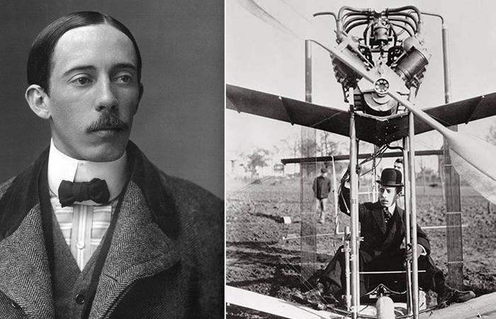 Альберто Сантос-Дюмон - легендарный бразильский авиаконструктор.
