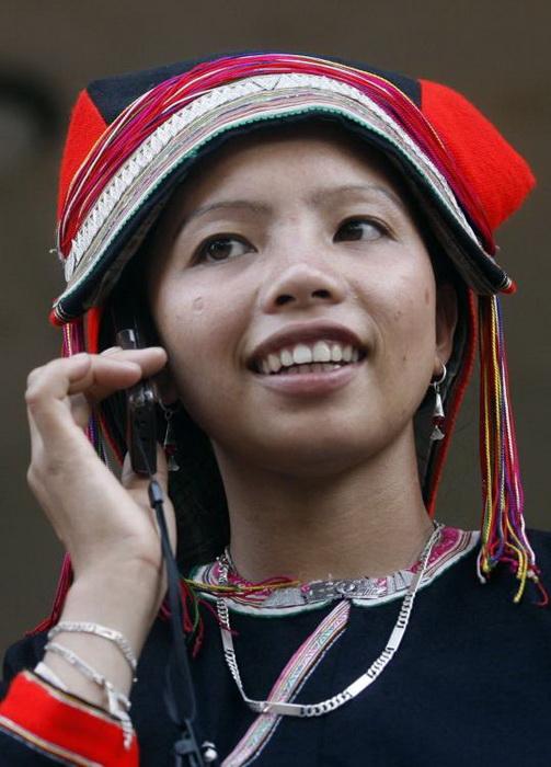 Девушка на ярмарке любви во Вьетнаме
