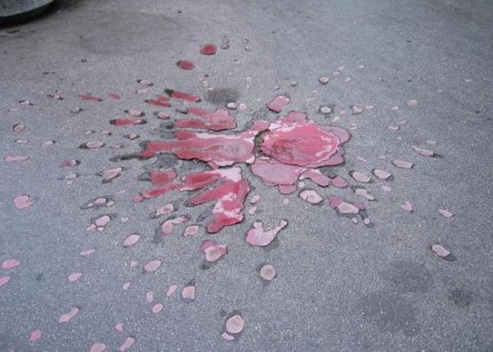*Роза Сараево* - символ многлетней войны в Боснии
