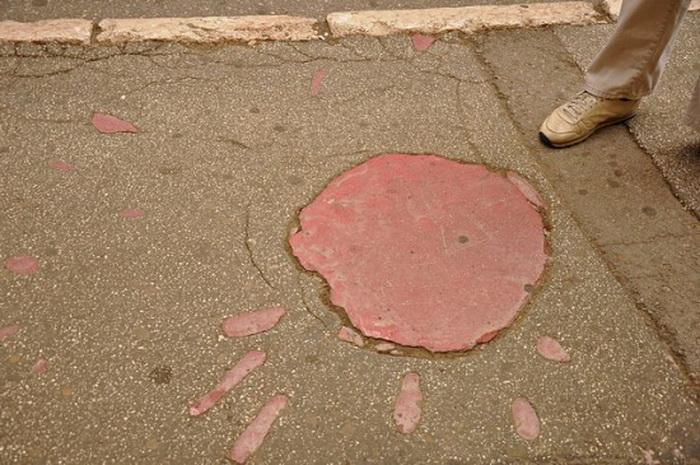*Роза Сараево* - символ многолетней войны в Боснии