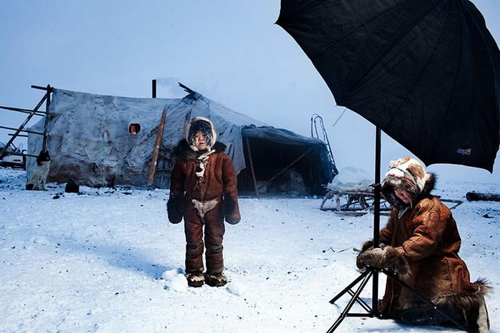 Фотограф Саша Ляховченко побывал в экспедиции на крайнем Севере