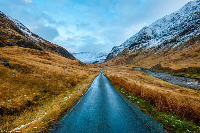 Восхитительные пейзажи Шотландии от фотографа Джорджа Тернера (George Turner)