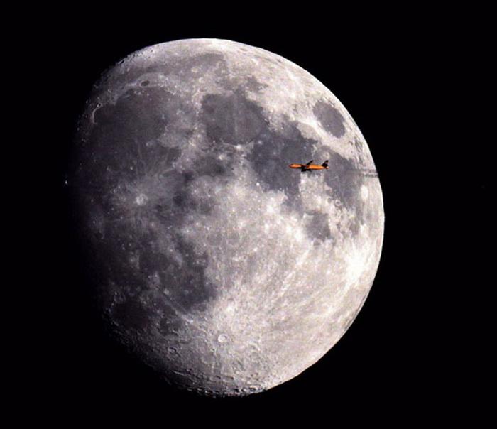 Путешествия на Луну. Фотопроект Себастьяна Лебриганда (Sebastien Lebrigand)