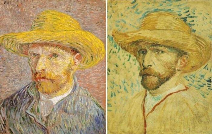 Загадка картины Ван Гога *Автопортрет в соломенной шляпе*