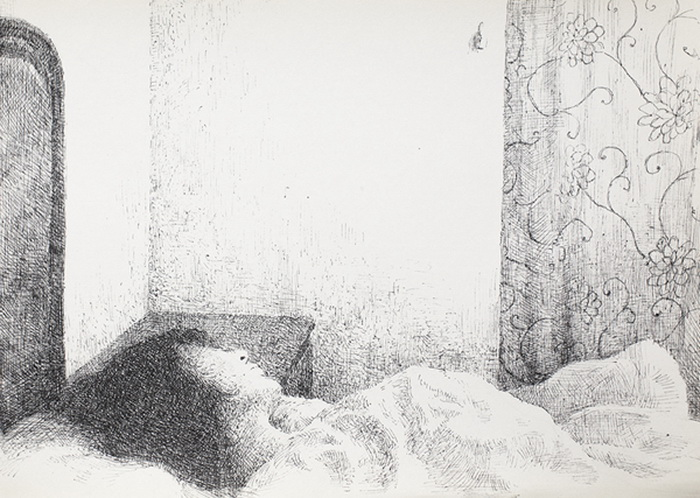 Рисунки из штрихов от Сун Джин Кима (Sung Jin Kim)
