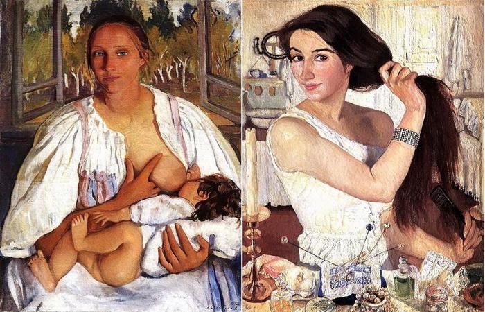Зинаида Серебрякова - выдающаяся русская художница