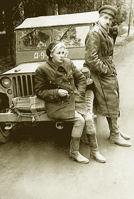 Фронтовое фото с Константином Симоновым