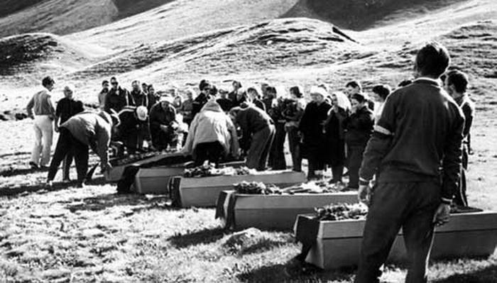 Похороны альпинисток