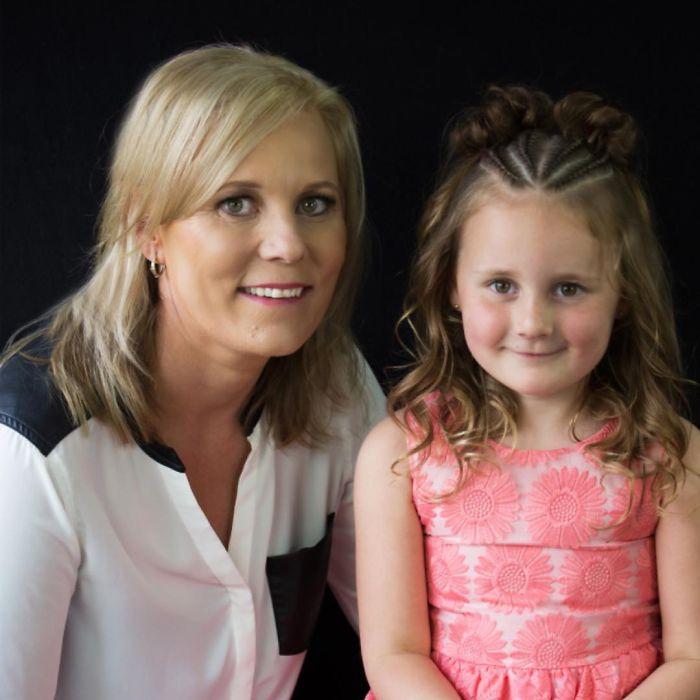 Шелли Гиффорд и ее дочь Грейс