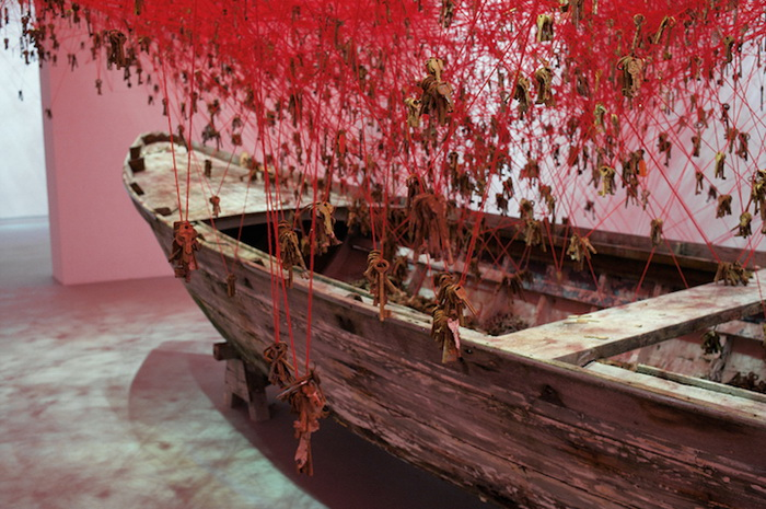 The Key in the Hand: инсталляция японской художницы