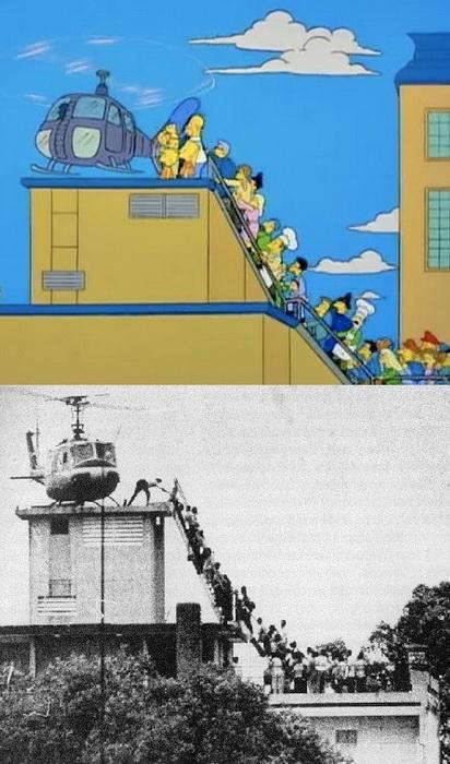 Симпсоны и спецоперация Порывистый ветер