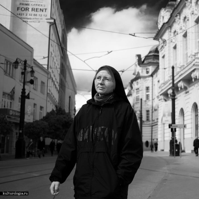 Взгляд на Вену - цикл уличных фотографий от Скандера Хлифа.