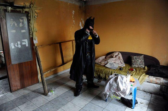 Бэтмен всегда приходит на помошь