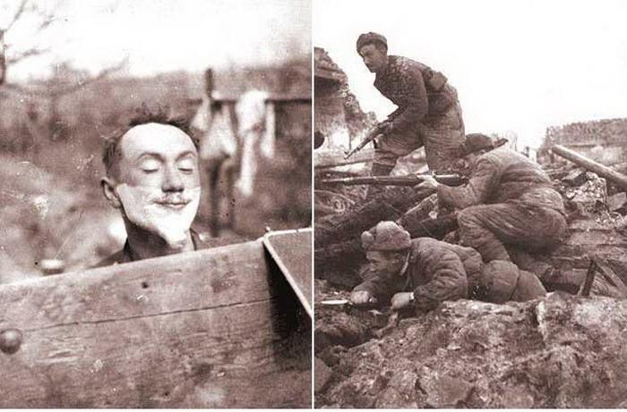 Фронтовые снимки Алексея Смирнова