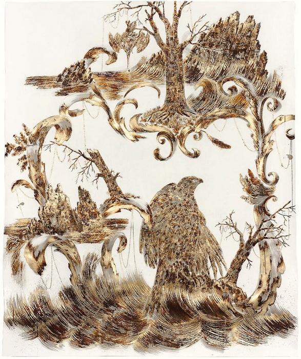 Золотые рисунки Сары Смит (Sarah A. Smith)
