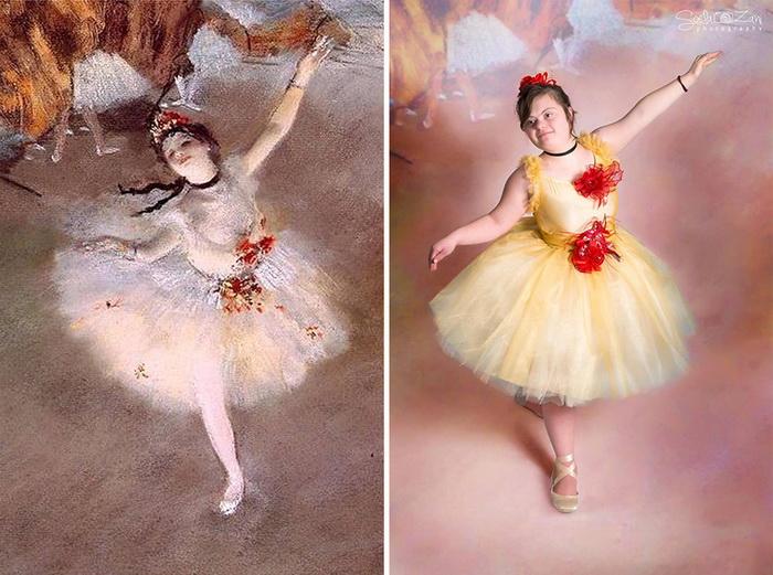 Прима-балерина, Дэга. Фотореконструкция от Soela Zani