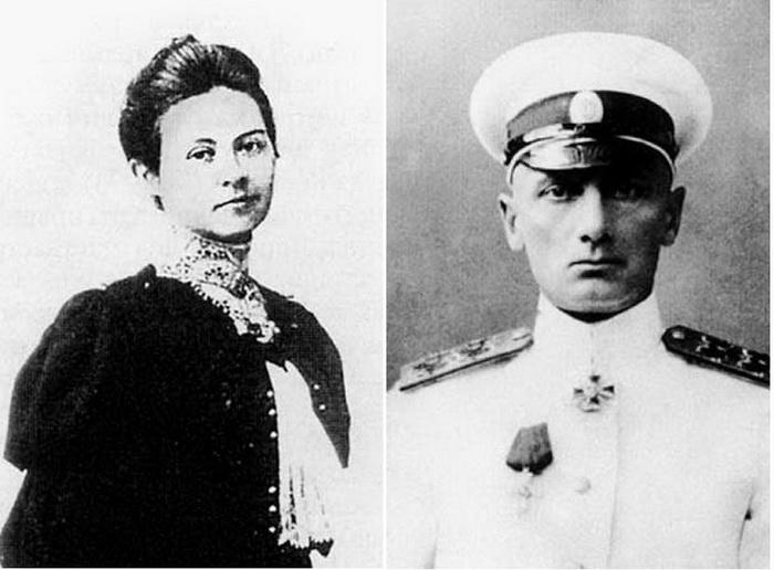 Софья и Александр Колчак