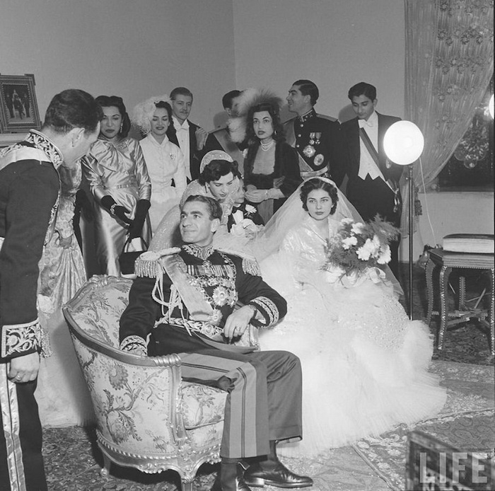 Королевская свадьба. Фото: bakhtiarifamily.com