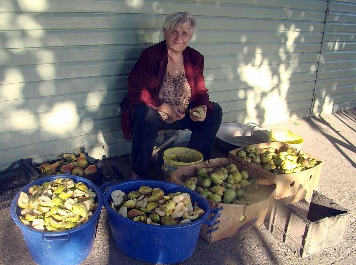 Заготовка фруктов для большой семьи. Фото: crimea.kp.ru