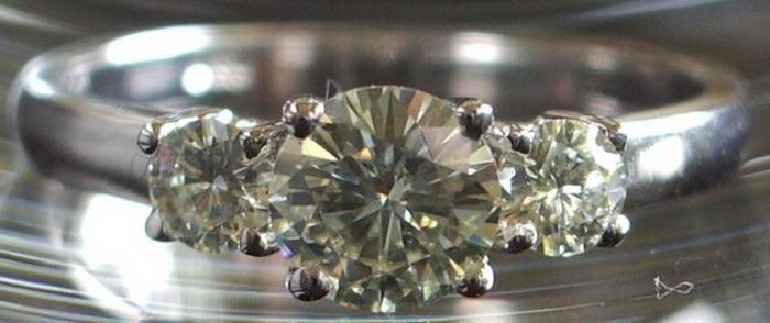 Кольцо, купленное на блошином рынке, оказалось сделанным в XIX веке.