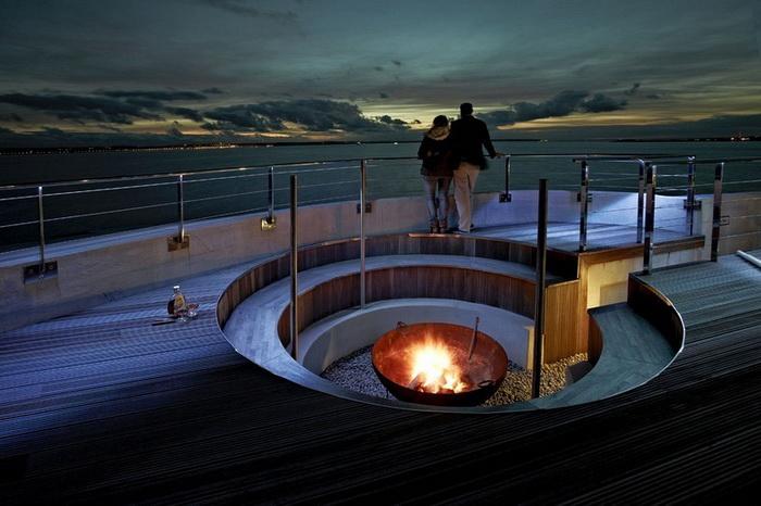 Spitbank Fort Hotel - идеальное место для романтического отдыха