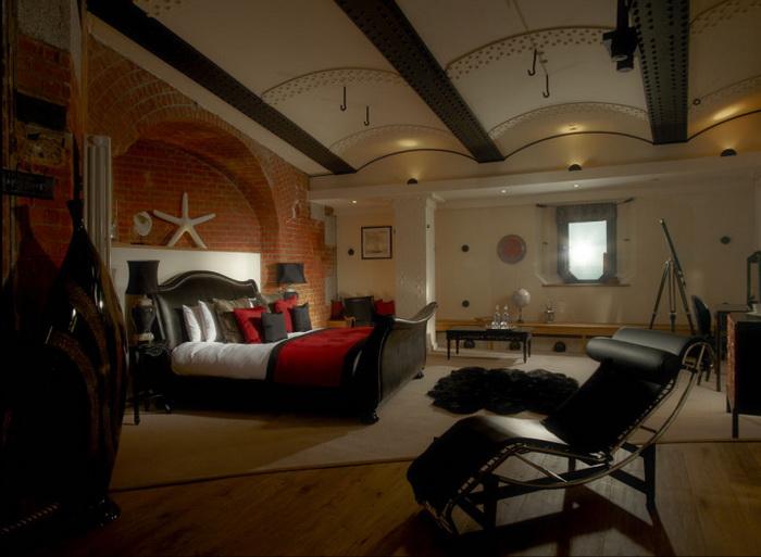 В Spitbank Fort Hotel 9 комфортабельных номеров