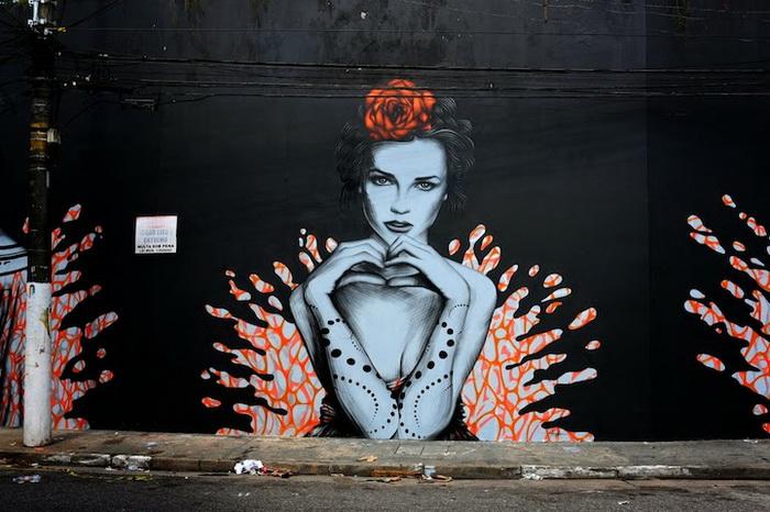 Splash: уличные рисунки в Сан-Паулу