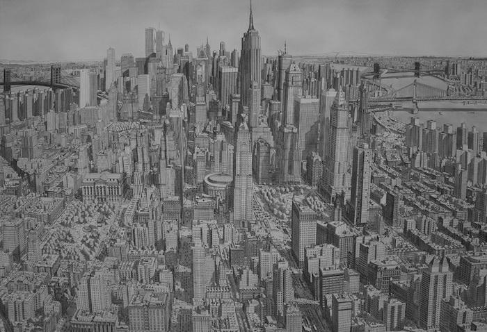 Урбанистические пейзажи от Стефана Бликроуда (Stefan Bleekrode): американский город