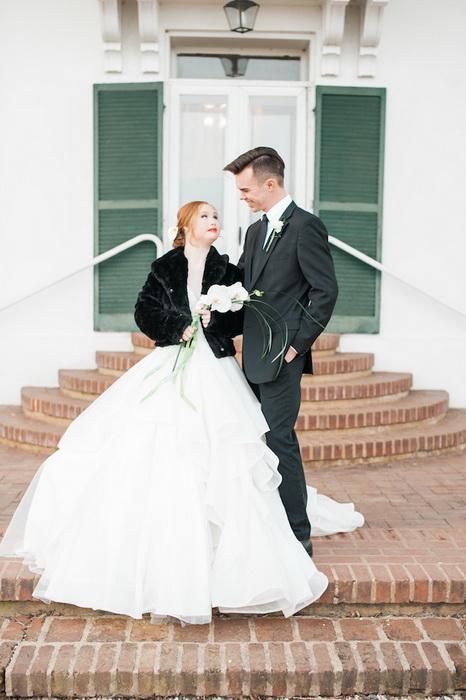 Мадлен Стюарт в свадебном платье