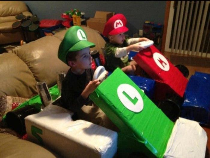Машинки Марио для сыновей.