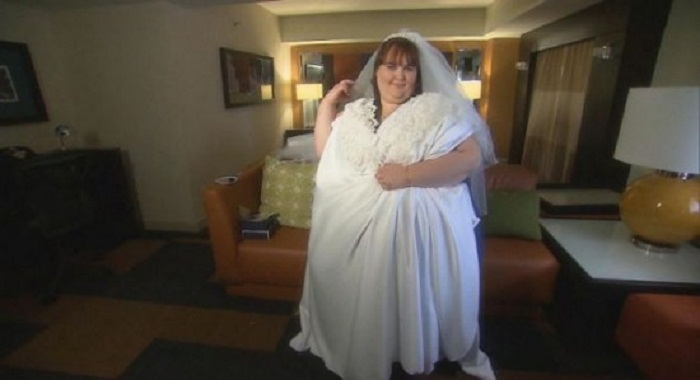 Для платья Сюзанны Эман потребуется 45 метров ткани