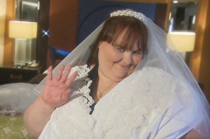 Сюзанна Эман - самая полная невеста в мире