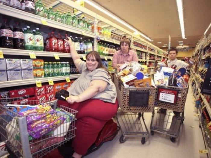 В супермаркете Сюзанна Эман проводит около 8 часов