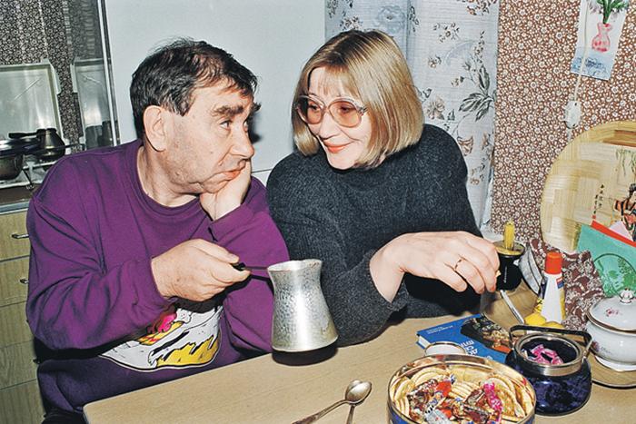 Михаил Светин с женой Брониславой Проскурниной