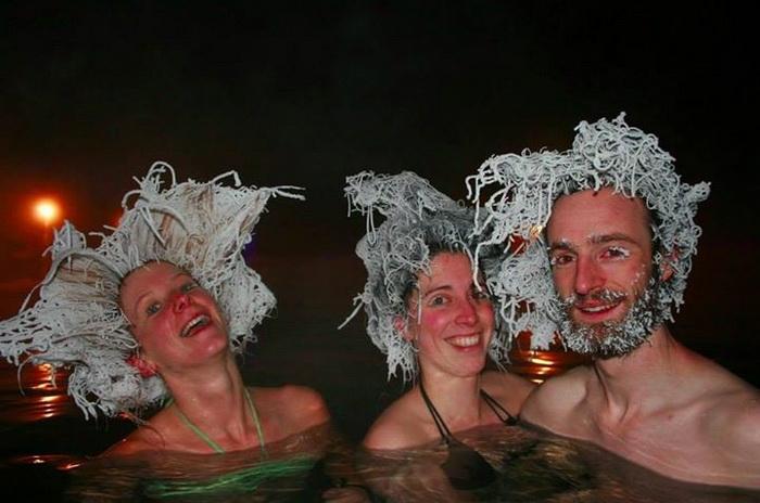 Конкурс по замораживанию волос (Канада)