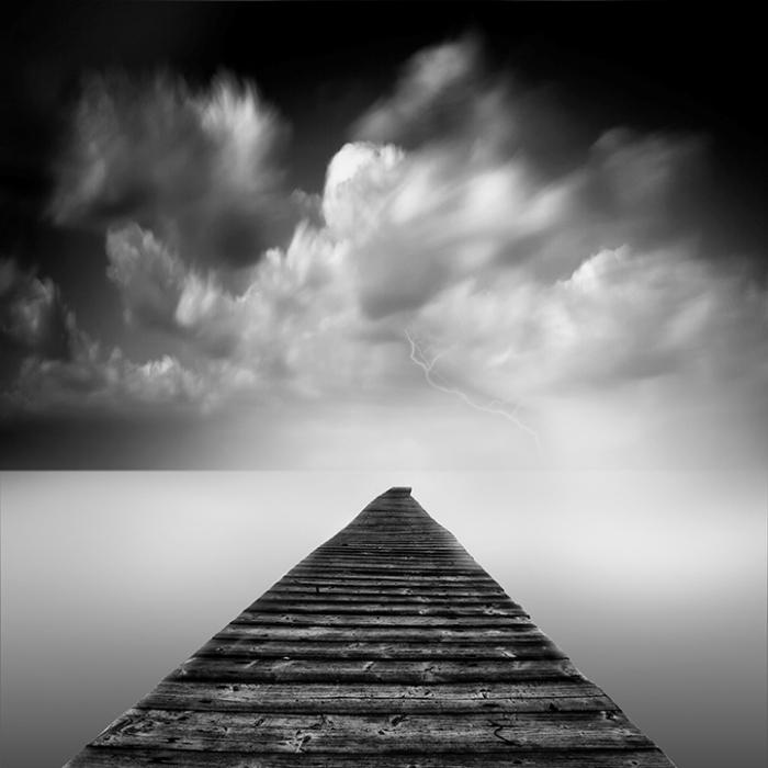 чёрно-белые картинки фото