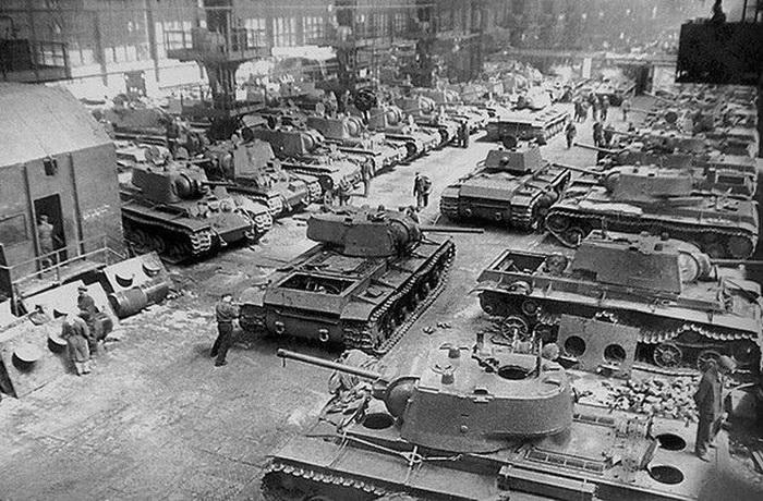 Челябинский тракторный завод в годы войны