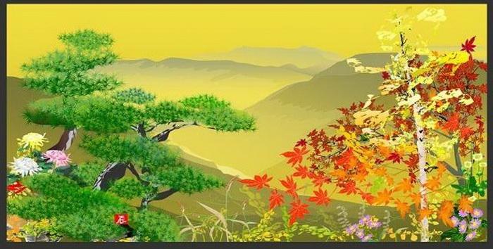 Цифровая живопись от Tatsuo Horiuchi при помощи Microsoft Excel