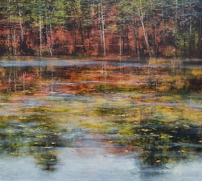Pondscapes: озерные пейзажи от Тери Мало (Teri Malo)