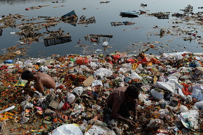 Загрязнение реки Ганг - проблема мирового масштаба.