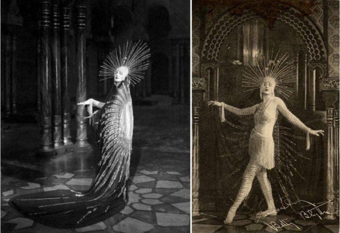 Американская актриса немого кино Барбара ла Марр, 1921 г.