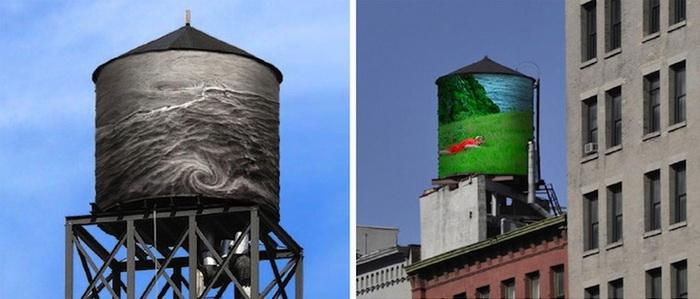 Экологический стрит-арт в Нью-Йорке