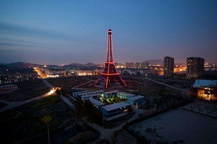 Город Тиандученге - *маленький Париж* в Китае
